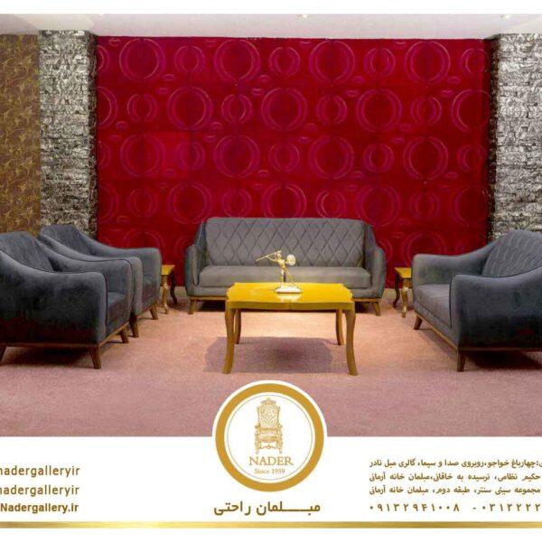 گالری عکس مبل راحتی طرح روناو - 0202004